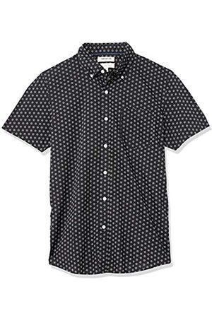 Goodthreads Hombre Casual - Slim-Fit Short-Sleeve Printed Poplin Shirt Camisa S