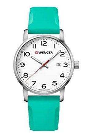 Wenger Reloj Analogico para Unisex de Cuarzo con Correa en Silicona Classic Avenue 01.1641.108