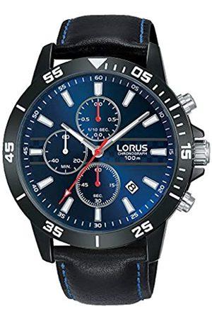 Lorus Hombre Relojes - Reloj Analógico para Hombre de Cuarzo con Correa en Cuero RM311FX9