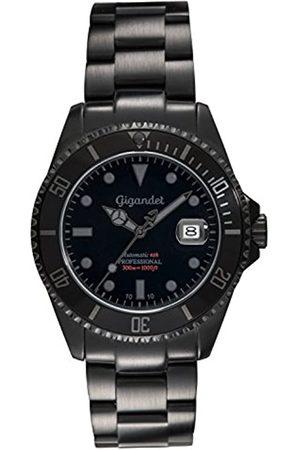 Gigandet Reloj de Hombre Automático Sea Ground Reloj de Buceo Analógico Correa de Acero G2-010