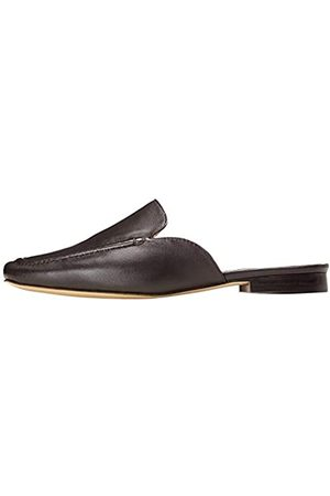 FIND Zapato Destalonado con Costura para Mujer, (Choco)
