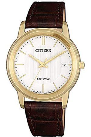 Citizen Mujer Relojes - Reloj Analógico para Mujer de Cuarzo con Correa en Cuero FE6012-11A