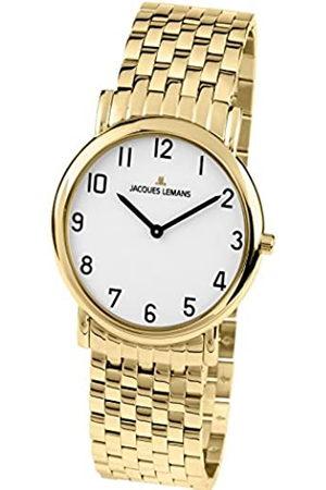 Jacques Lemans 1-1369N - Reloj analógico de caballero de cuarzo
