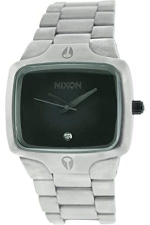Nixon Hombre Relojes - A140479-00 - Reloj analógico de Cuarzo para Hombre con Correa de Acero Inoxidable