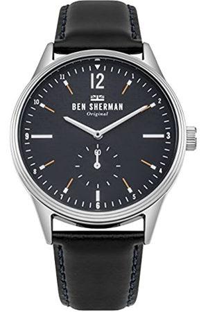 Ben Sherman Reloj Análogo clásico para Hombre de Cuarzo con Correa en Cuero WB015UB