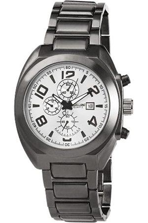 Excellanc 284372500007 - Reloj analógico de caballero de cuarzo con correa de aleación