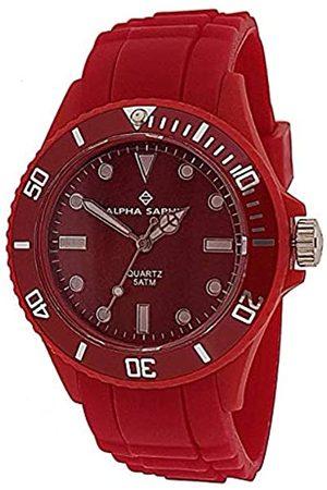 Jacques Lemans Alpha Saphir 370ZI - Reloj de Pulsera Unisex analógico de Silicona