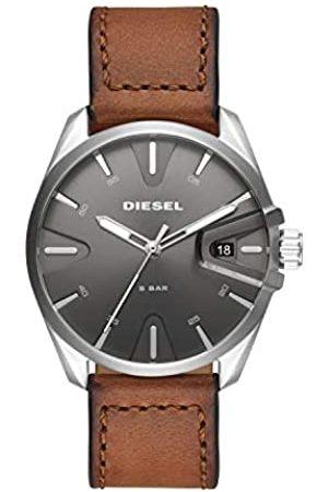 Diesel Hombre Relojes - Reloj Analógico para Hombre de Cuarzo con Correa en Cuero DZ1890