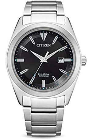 Citizen RelojAnalógicoparadelosHombresdeCuarzoconCorreaenTitanioAW1640-83E