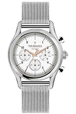 Trussardi RelojMultiesferaparaHombredeCuarzoconCorreaenAceroInoxidableR2453127006