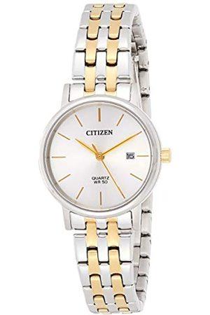 Citizen Mujer Relojes - RelojAnálogoparaSeñorasdeCuarzoconCorreaenAceroInoxidableEU6094-53A