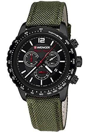 Wenger Roadster Black Night Chrono 01.0853.110 - Reloj de pulsera unisex