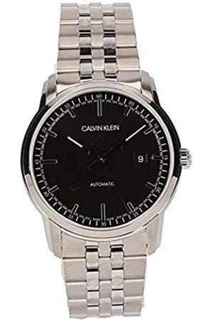 Calvin Klein Hombre Relojes - Reloj Analógico para Hombre de Automático con Correa en Acero Inoxidable K5S3414Y