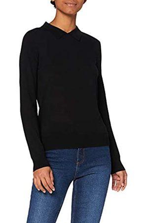 MERAKI Jersey de Lana Merino Mujer, (Black), 42