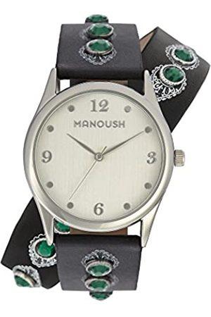 Manoush RelojAnalógicoparaUnisexAdultosdeCuarzoconCorreaenPUMSHDI02