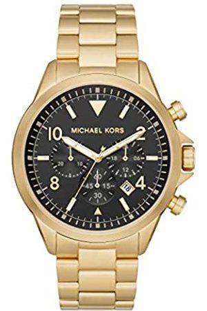 Michael Kors Hombre Relojes - MichaelKorsRelojAnalógicoparaHombredeCuarzoconCorreaenAceroInoxidableMK8827