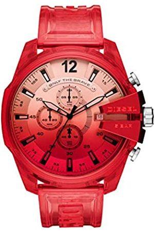 Diesel Hombre Relojes - Reloj Analógico para de los Hombres de Cuarzo con Correa en plástico DZ4534