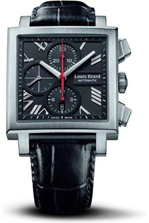 Louis Erard Hombre Reloj automático 77504 AS02. BDC33 con Correa de Piel