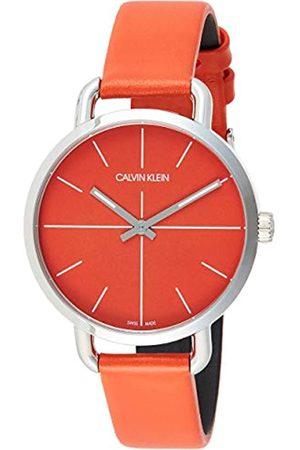 Calvin Klein Relojes - Reloj Analógico-Digital para Unisex Adultos de Cuarzo con Correa en Acero Inoxidable K7B21626