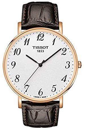 Tissot Relojes - Reloj Analógico para Unisex Adultos de Cuarzo con Correa en Cuero T1096103603200