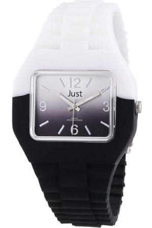 Just Watches Relojes - 48-S6501-WH-BK - Reloj analógico de Cuarzo Unisex
