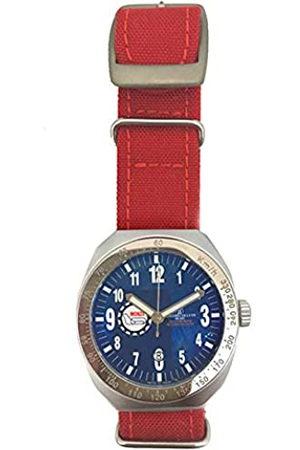 Montres De Luxe Reloj Analog-Digital para Unisex-Adult de Automatic con Correa en Cloth S0317190
