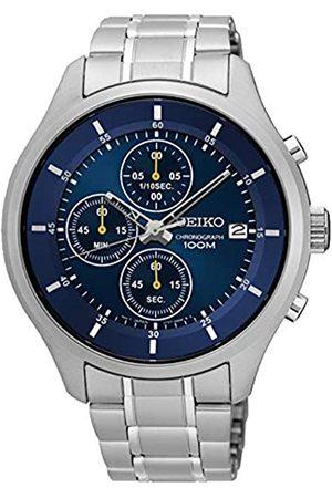 Seiko Reloj Cronógrafo para Hombre de Cuarzo con Correa en Acero Inoxidable SKS537P1