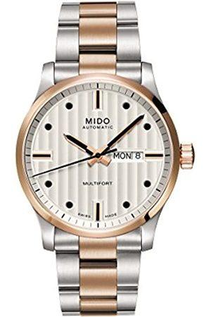 MIDO Hombre Relojes - Reloj Analógico para Hombre de Automático con Correa en Acero Inoxidable M005.430.22.031.80