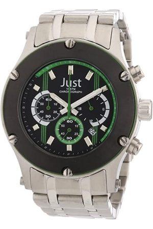 Just Watches Just Uhren 48-STG2372GR - Reloj de Caballero de Cuarzo