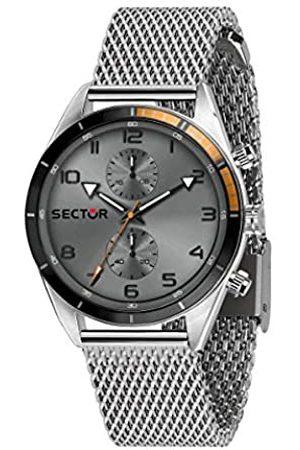 Sector No Limits Reloj Analógico para Hombre de Cuarzo con Correa en Acero Inoxidable R3253516005
