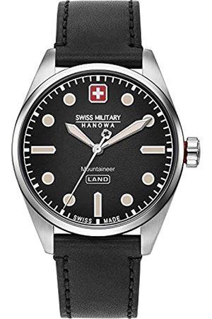Swiss Military Hanowa Hombre Relojes - Reloj Analógico para Hombre de Cuarzo con Correa en imitación de Cuero 06-4345.7.04.007