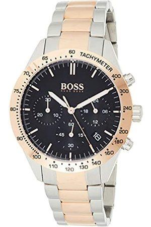 HUGO BOSS Hombre Relojes - Reloj Cronógrafo para Hombre de Cuarzo con Correa en Acero Inoxidable 1513584