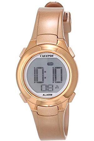 Calypso Reloj Digital Unisex con Pantalla LCD y Correa de plástico de Color K5677/3