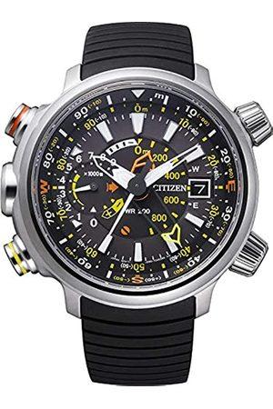 Citizen Promaster Land - Altichron - Reloj de Cuarzo para Hombre, con Correa de Goma