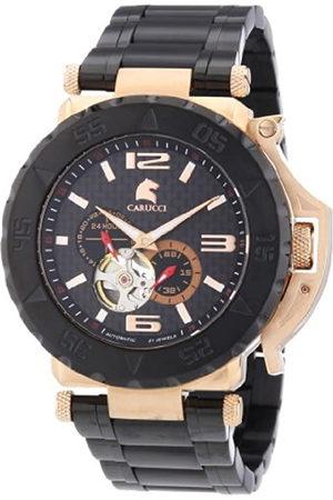 Carucci Watches Hombre Relojes - Teramo - Reloj de automático para Hombre, con Correa de Acero Inoxidable Chapado
