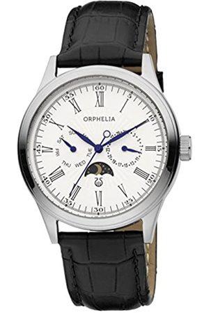ORPHELIA Hombre Relojes - Reloj Analógico para Hombre de Cuarzo con Correa en Cuero OR71600