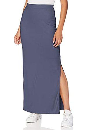 MERAKI Marca Amazon - Falda Maxi Slim Fit Mujer, (Indigo), 38