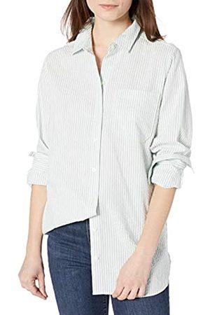 Goodthreads Seersucker Long-Sleeve Boyfriend Shirt Shirts M