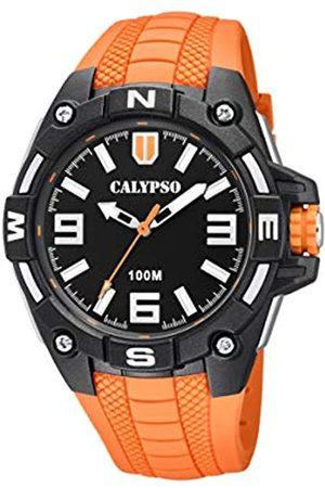 Calypso Reloj Analógico para Hombre de Cuarzo con Correa en Plástico K5761/3
