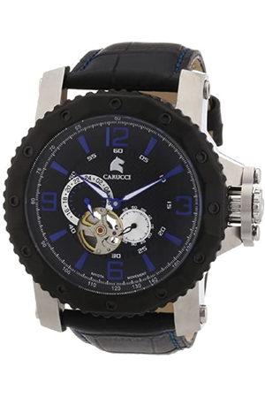 Carucci Watches Turin CA2198LB-BK - Reloj analógico automático para Hombre