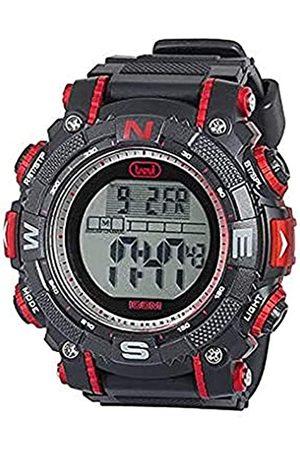 Trevi Hombre Relojes - SG340-Reloj(RelojdePulseraUnisexNegroNaranjaNegroAlrededorDeporte)