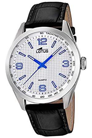Lotus Hombre Relojes - Reloj Analógico para Hombre de Cuarzo con Correa en Cuero 18149/3