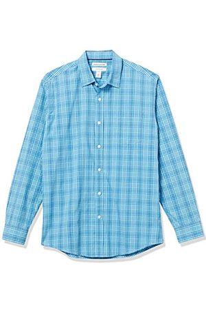 Amazon Long-Sleeve Regular-fit Casual Poplin Shirt Camisa