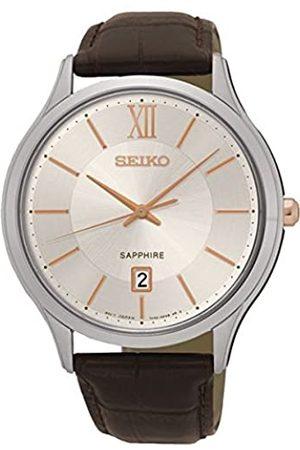 Seiko Hombre Relojes - SGEH55P1-RelojdePulseraparaHombre(analógicoCuarzoPiel)