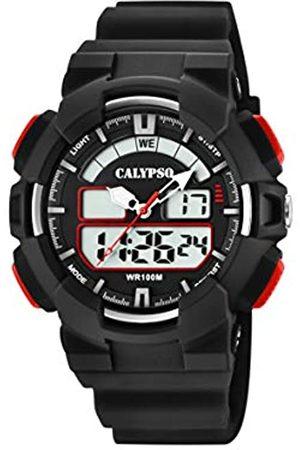 Calypso Hombre Relojes - Reloj Analógico-Digital para Hombre de Cuarzo con Correa en Plástico K5772/4