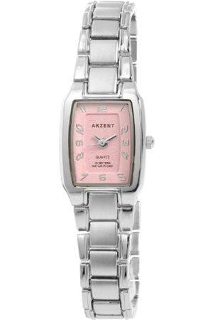Akzent Mujer Relojes - SS7123800061 - Reloj analógico de mujer de cuarzo con correa de aleación - sumergible a 30 metros