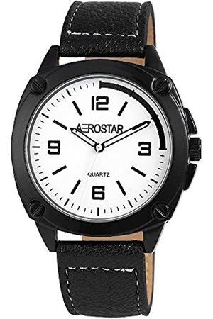 Aerostar RelojAnalógicoparaHombredeCuarzoconCorreaenCuero2.11072E+11