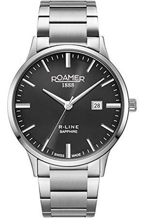 Roamer Hombre Relojes - Reloj Analógico para Hombre de con Correa en Acero Inoxidable 718833-41-55-70