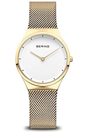 Bering Reloj Analógico para Mujer de Cuarzo con Correa en Acero Inoxidable 12131-339