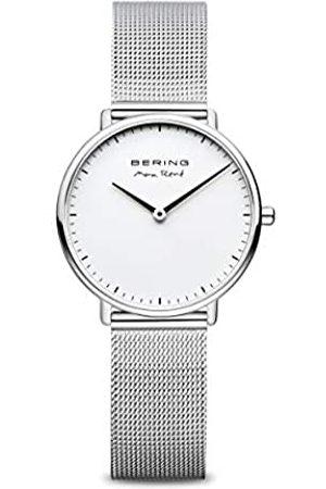 Bering Mujer Relojes - RelojAnalógicoparaMujerdeCuarzoconCorreaenAceroInoxidable15730-004